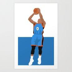 Thunder Up Art Print