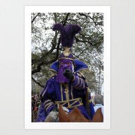 Mardi Gras Wants You Art Print
