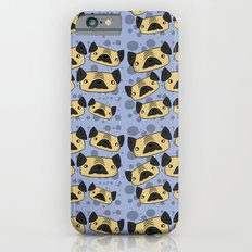 Pug Pattern iPhone 6s Slim Case