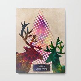 merry christmas 5 Metal Print