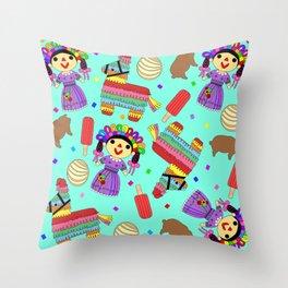 Viva Fiesta Throw Pillow