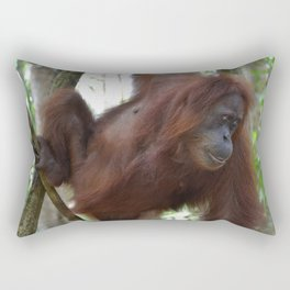 Bukit Lawang Orangutan Sumatra Rectangular Pillow
