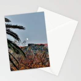 Moon Over Kotor Stationery Cards