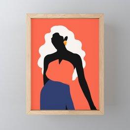 Super power Framed Mini Art Print