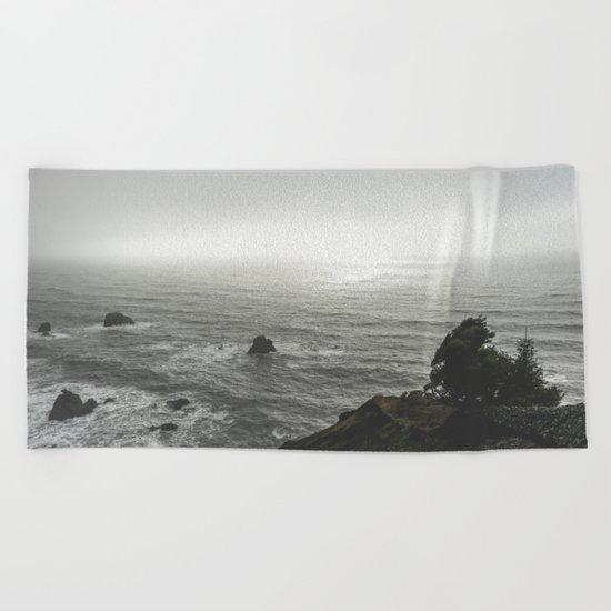 Ocean Emotion Beach Towel