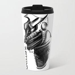Waterbrushed Robot Protector Travel Mug