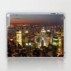 New York Empire State Night Laptop & iPad Skin