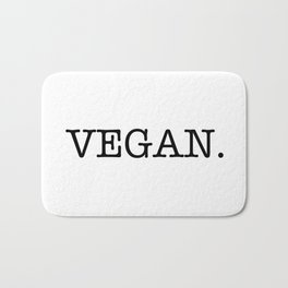 VEGAN. Bath Mat