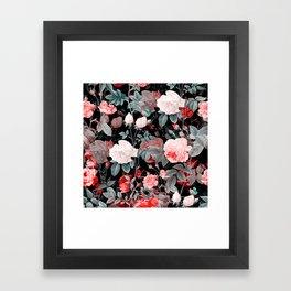 Botanic Floral Framed Art Print