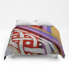 Celtic Knot with Autumn Colors Comforters