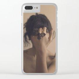 Metamorphose Clear iPhone Case