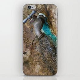 rusted drip iPhone Skin