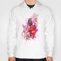 """bubbles Hoodies featuring Bubbles by Barbora """"Mad Alice"""" Urbankova"""