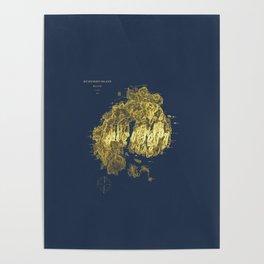 Mt. Desert Island 1875 Poster