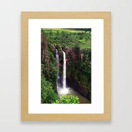 """Mac Mac Falls"" by ICA PAVON Framed Art Print"