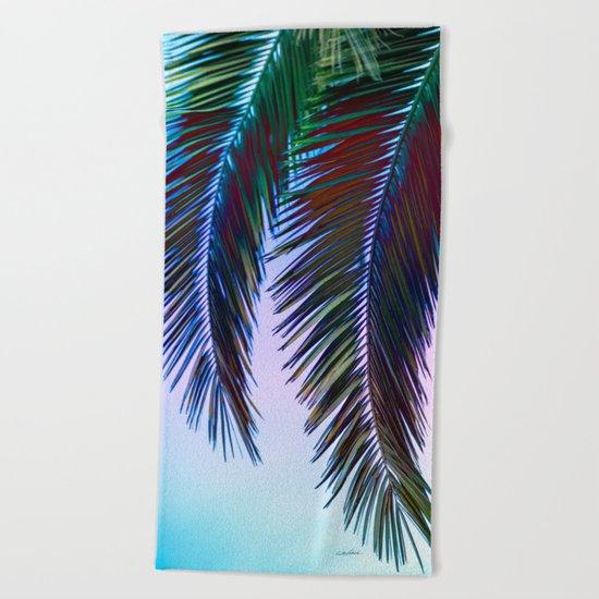 Western Sunset Beach Towel
