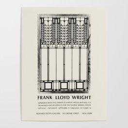 Frank Lloyd Wright - Exhibition poster for Richard Feigen Gallery, New York, 1970 Poster
