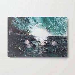 Fairy Ice Cave Metal Print