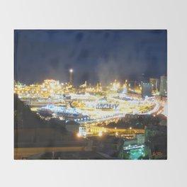 Porto di Genova Throw Blanket