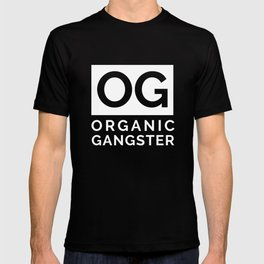 Organic Gangster - Vegan/Natural/Vegetarian T-shirt