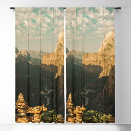 Zion Mornings - 127/365 National Parks Blackout Curtain