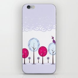 Pastel Dream Trees iPhone Skin