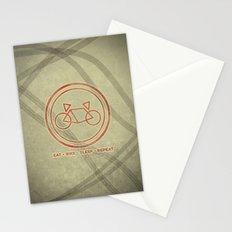 Eat • Bike • Sleep • Repeat Stationery Cards