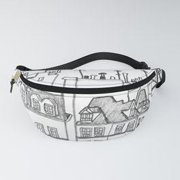 Paris Near Cathedral Notre-Dame Fanny Pack