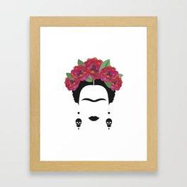 Frida Kahlo Feminist Framed Art Print