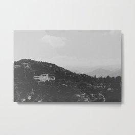 Mountain Side Granada Metal Print