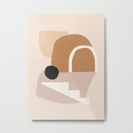 abstract minimal 24 Metal Print