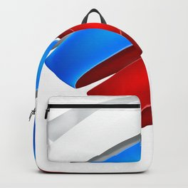 The striped heart Backpack