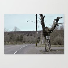 Welcome to Centralia Canvas Print
