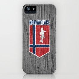 NORWAY LAKE / Sunburg / 2,327 acres iPhone Case