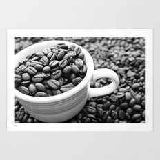 Don't Be Latte Art Print