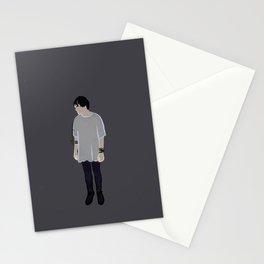 lanky boy Stationery Cards