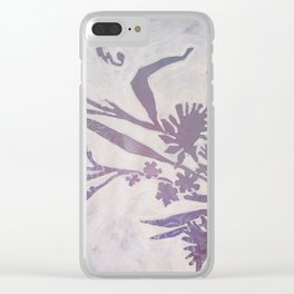 Doilies 2 Clear iPhone Case