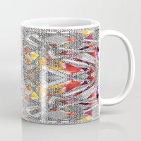 blueprint Mugs featuring Blueprint - multi by Etch by Design