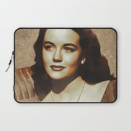 Dorothy Malone, Hollywood Legend Laptop Sleeve