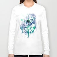 never stop exploring Long Sleeve T-shirts featuring NEVER STOP EXPLORING by dzeri29