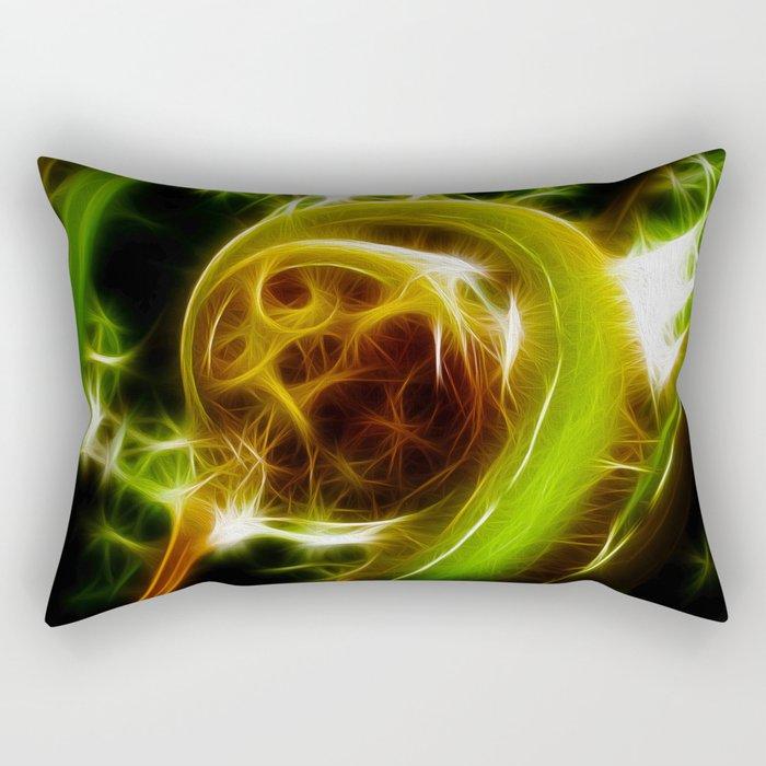 The Unfurled Fern Rectangular Pillow
