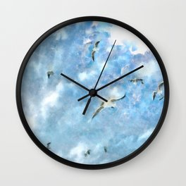 The Chasers - Seagulls In Flight Wall Clock