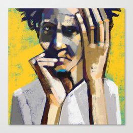 Solitary Seeking Canvas Print