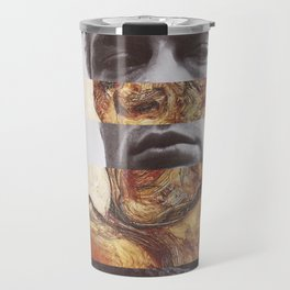 Egon Schiele's Self Portrait with Bare Shoulder & James D. Travel Mug