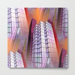 citylines -8- Metal Print