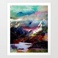tchmo Art Prints featuring Untitled 20100816g (Landscape) by tchmo