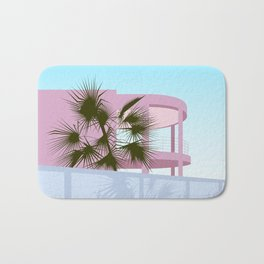 Art Deco Beach House Bath Mat