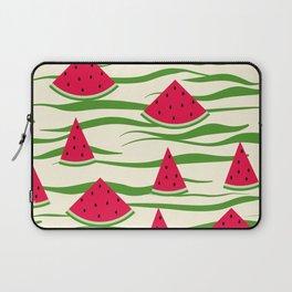 Watermelon pattern . 2 Retro . Laptop Sleeve