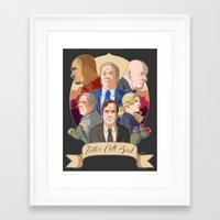 better call saul Framed Art Prints featuring Better Call Saul by NessaSan