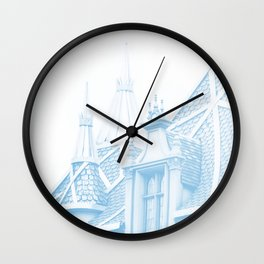 CASTLE - MAKE IT BLUE Wall Clock